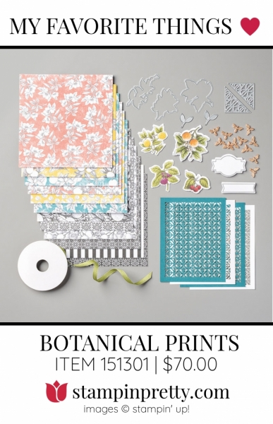 My Favorite Things Botanical Prints