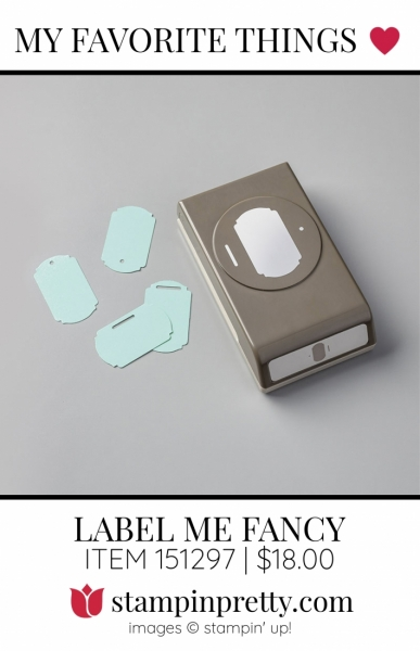 My Favorite Things Label Me Fancy Punch