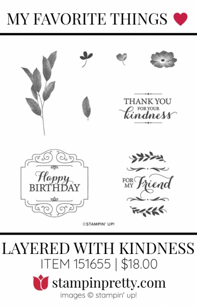 My Favorite Things Layered with Kindness