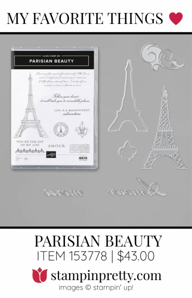 My Favorite Things Parisian Beauty