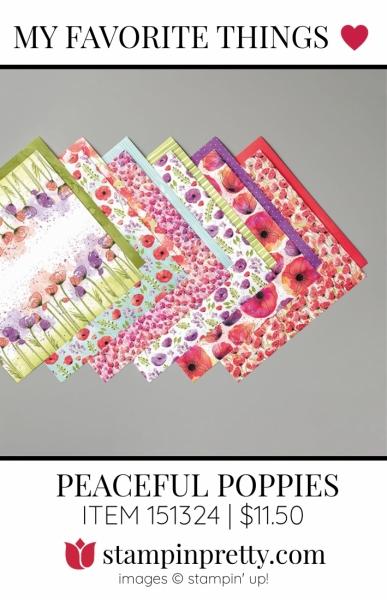 My Favorite Things Peaceful Poppies