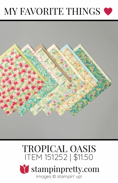 My Favorite Things Tropical Oasis