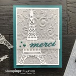 Parisian Beauty Bundle and Parisian Flourish 3D Embossing Folder by Stampin