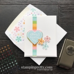 Pleased as Punch DSP & Small Bloom Punch Sale-A-Bration Promotion, Heartfelt Bundle - Card by Mary Fish, Stampin