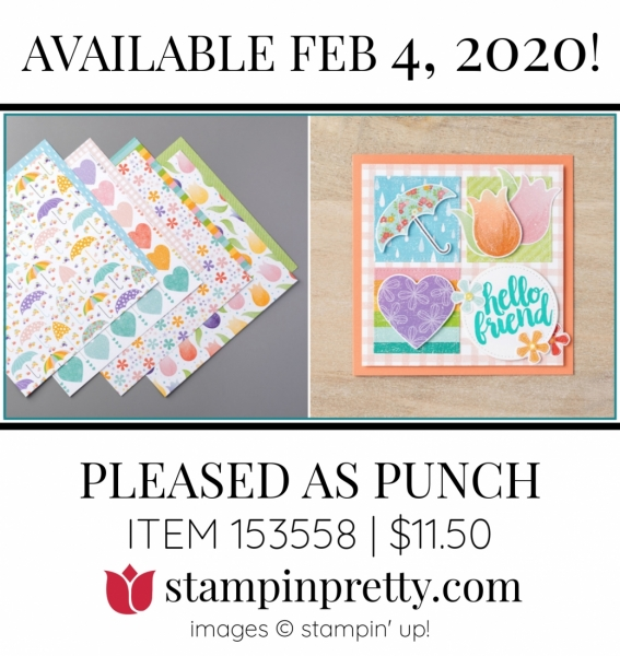 Pleased as Punch Item 153558 $11.50 - from Stampin' Up! Available February 4