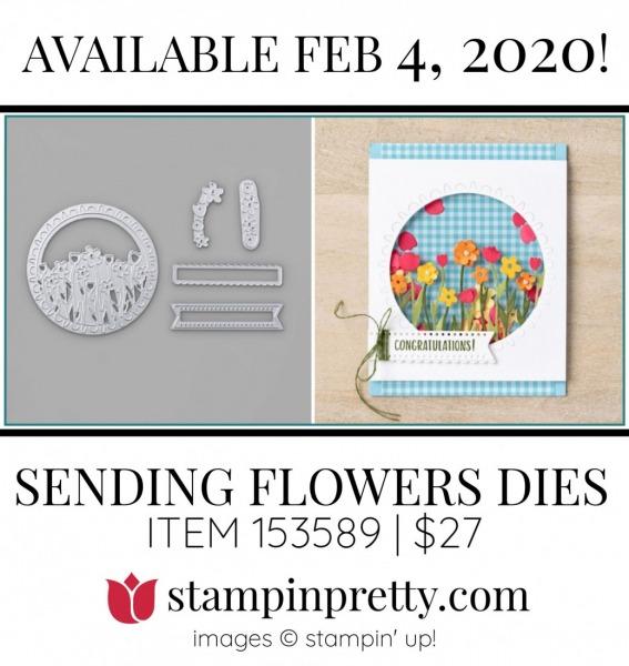 SENDING FLOWERS DIES by Stampin' Up! 153589
