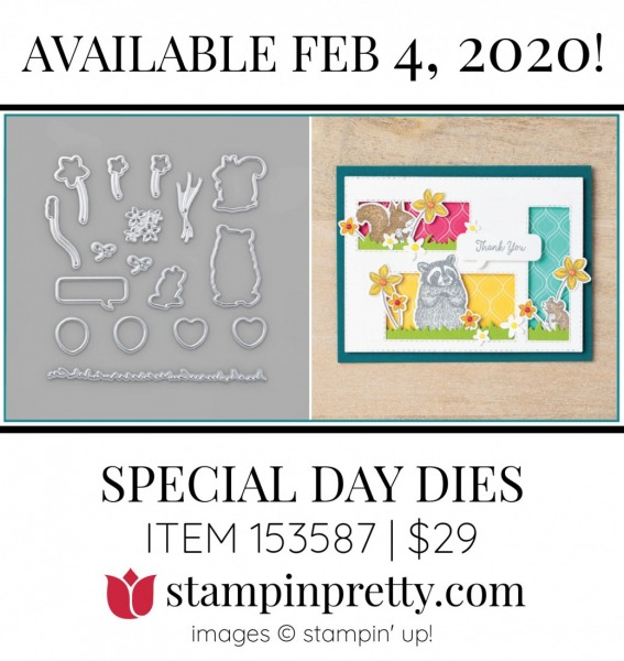 Special Day Dies by Stampin' Up! 153587