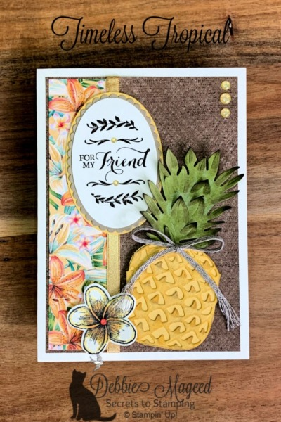 Stampin' Pretty Pals Sunday Picks 01.26 - Debbie Mageed