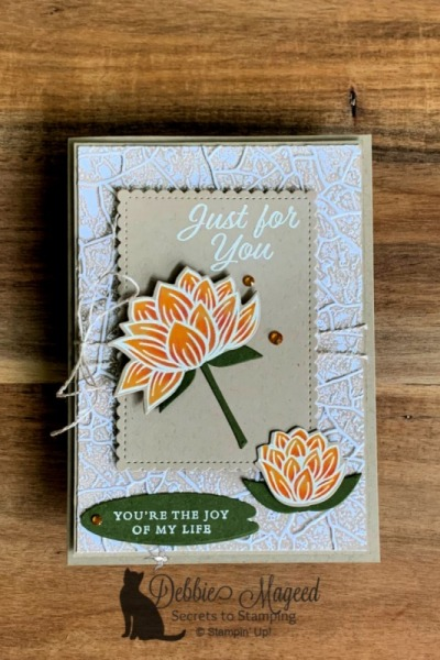 Stampin' Pretty Pals Sunday Picks 02.02- Debbie Mageed