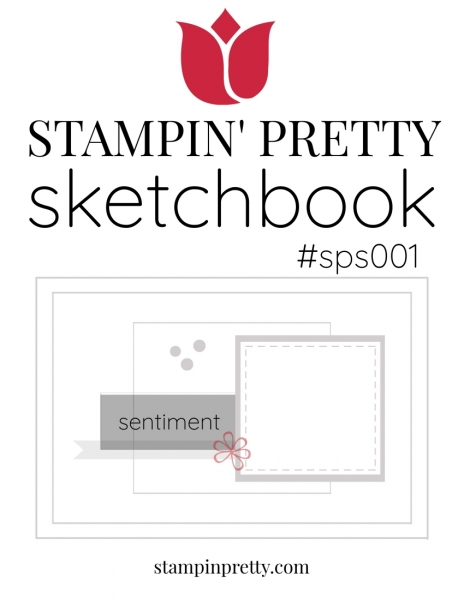 Stampin' Pretty Sketchbook #sps001