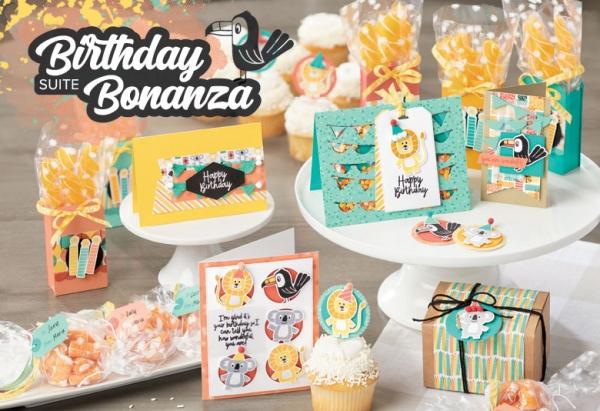 Stampin' Up! Birthday Bonanza
