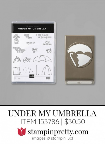 Under My Umbrella Bundle 153786 from Stampin' Up!