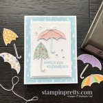 Under My Umbrella Bundle Product Coordination from Stampin