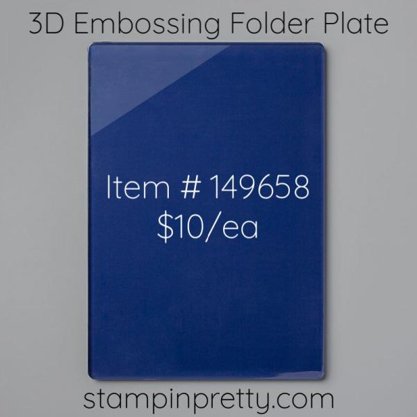 149658 3D Embossing Folder Plate