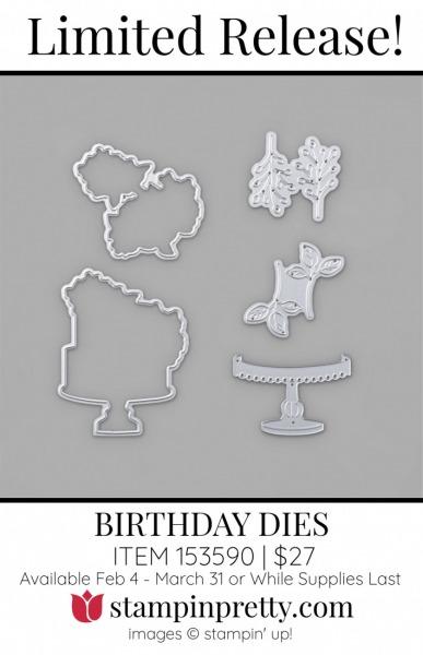 Birthday Dies 153590 $27