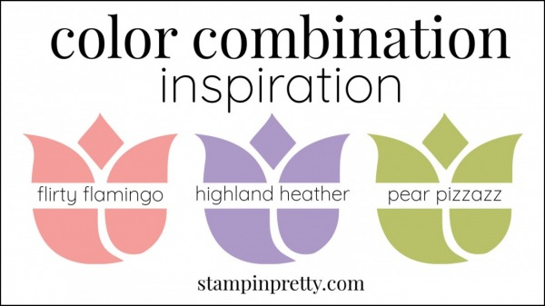 Color Combinations Flirty Flamingo, Highland Heather, Pear Pizzazz(1)