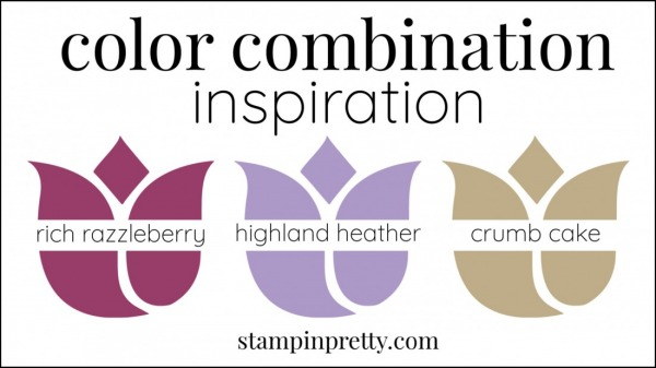Color Combinations Rich Razzleberry, Highland Heather, Crumb Cake