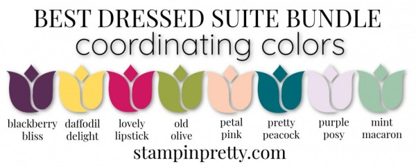 Coordinating Colors - Best Dressed Suite Bundle
