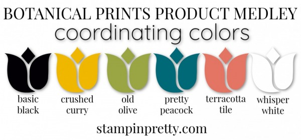 Coordinating Colors - Botanical Prints Product Medley