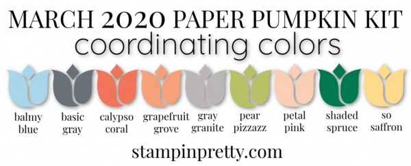 Coordinating Colors - March 2020 Paper Pumpkin