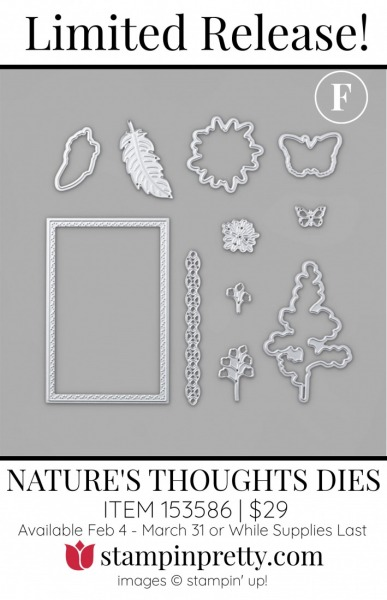 F. Nature's Thoughts Dies 153586 $29(1)