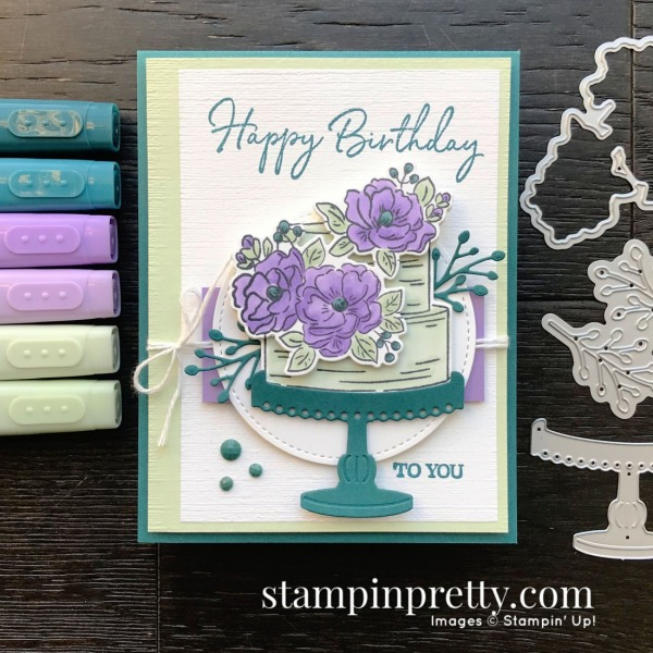Happy Birthday To You Stamp Set & Birthday Dies for Stampin' Pretty Sketchbook Sketch 002 #sps002