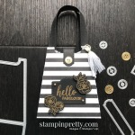 Hello Fabulous Golden Honey Purse. Product by Stampin