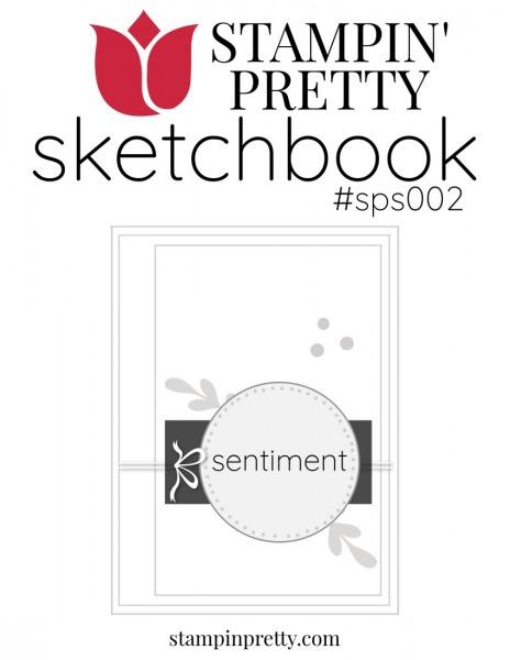 Stampin' Pretty Sketchbook #sps002