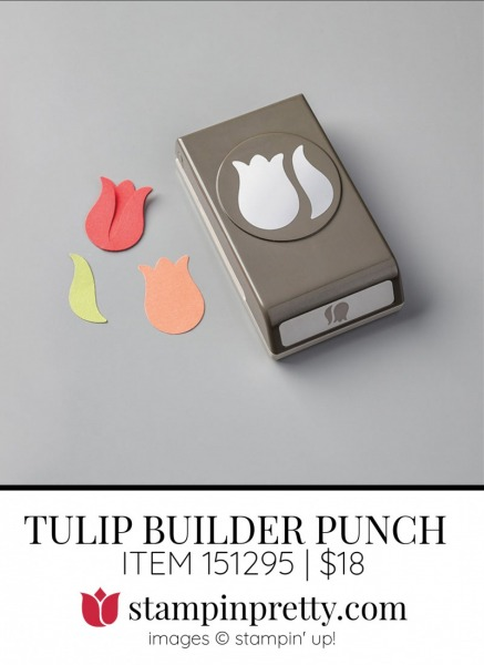 TULIP BUILDER PUNCH 151295 by Stampin Up!