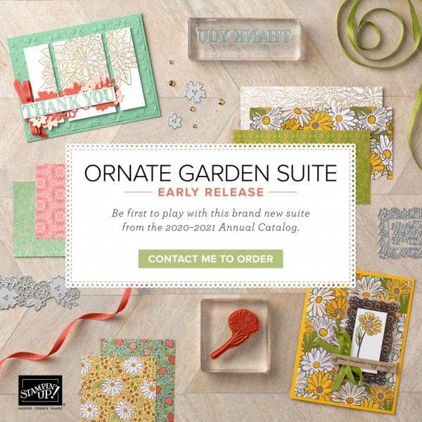 Ornate Garden Mega Suite from Stampin' Up!