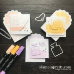 Best Dressed Note Cards & Envelopes from Stampin