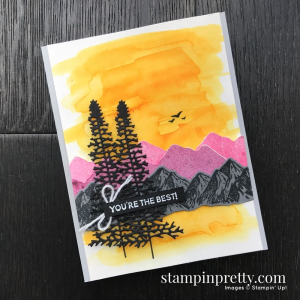 Mountain Air Bundle by Stampin' Up! CASE the Catty by Mary Fish, Stampin' Pretty(1)