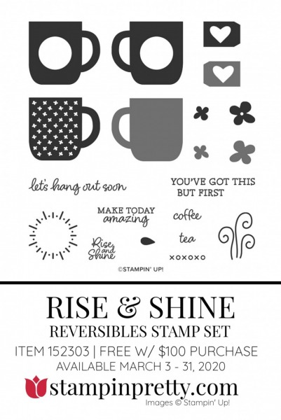 RISE & SHINE by Stampin' Up! 152303 FREE with $100 Purchase