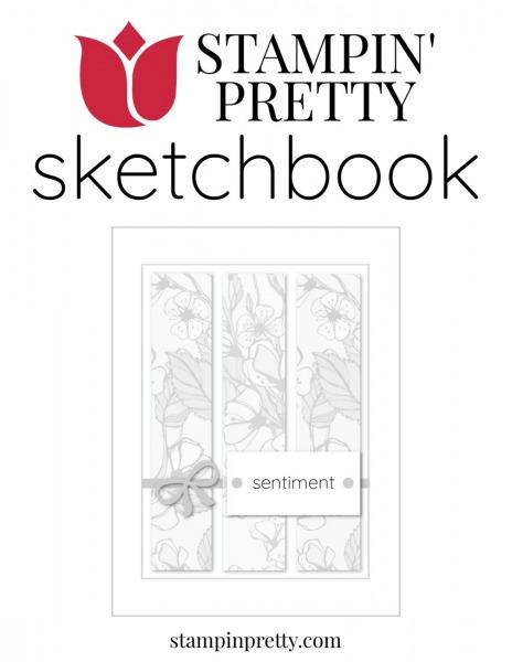 Stampin' Pretty Sketchbook Tri Panel