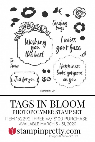 TAGS IN BLOOM by Stampin' Up! 152292 FREE with $100 Purchase