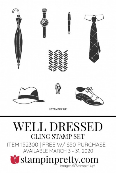 WELL DRESSED by Stampin' Up! 152300 FREE with $50 Purchase