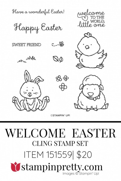 151559 Welcome Easter Stamp Set by Stampin' UP!(
