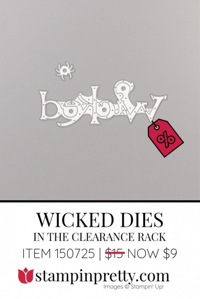 Clearance Wicked Dies
