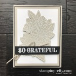 Create this card using the Ornate Style and Ornate Thanks Stamp Set by Stampin