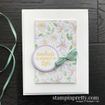 Create this handmade card using the Best Dressed Suite from Stampin