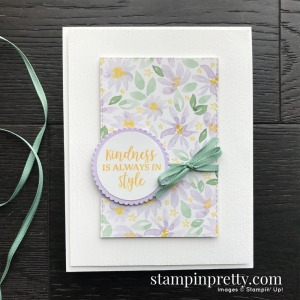 Create this handmade card using the Best Dressed Suite from Stampin' Up! Card by Mary Fish, Stampin' Pretty!