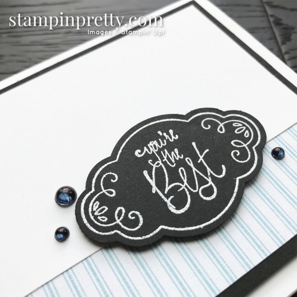 Create this handmade card using the Label Me Pretty Stamp Set by Stampin' Up! Card by Mary Fish, Stampin' Pretty