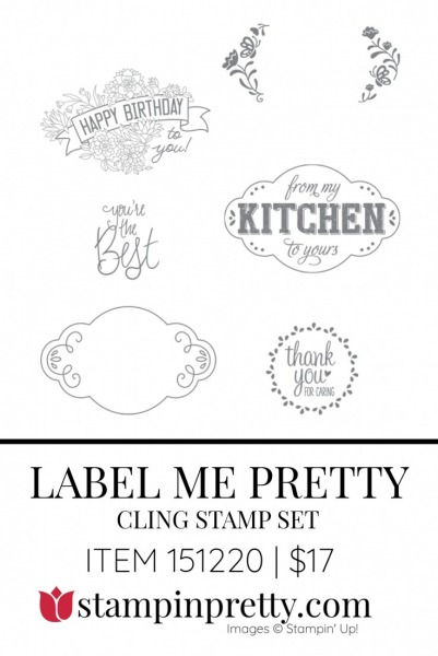 Label Me Pretty Stamp Set by Stampin' Up! 151220