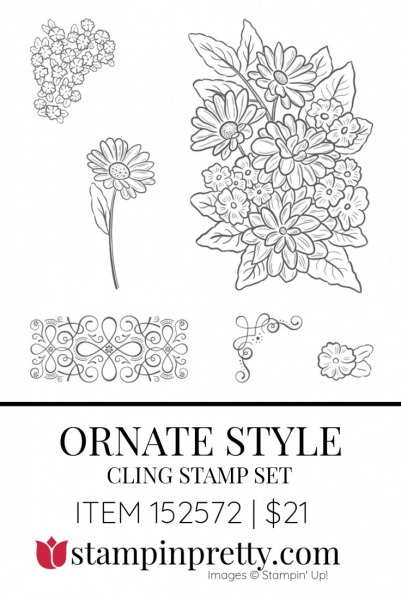 Ornate Style Cling Stamp Set 152572 by Stampin' Up!