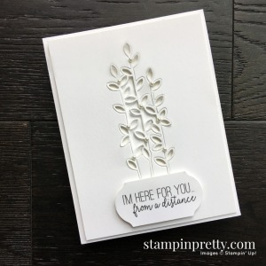 Share Sunshine PDF COVID 19 Relief by Stampin' UP! Card created by Mary Fish, Stampin' Pretty