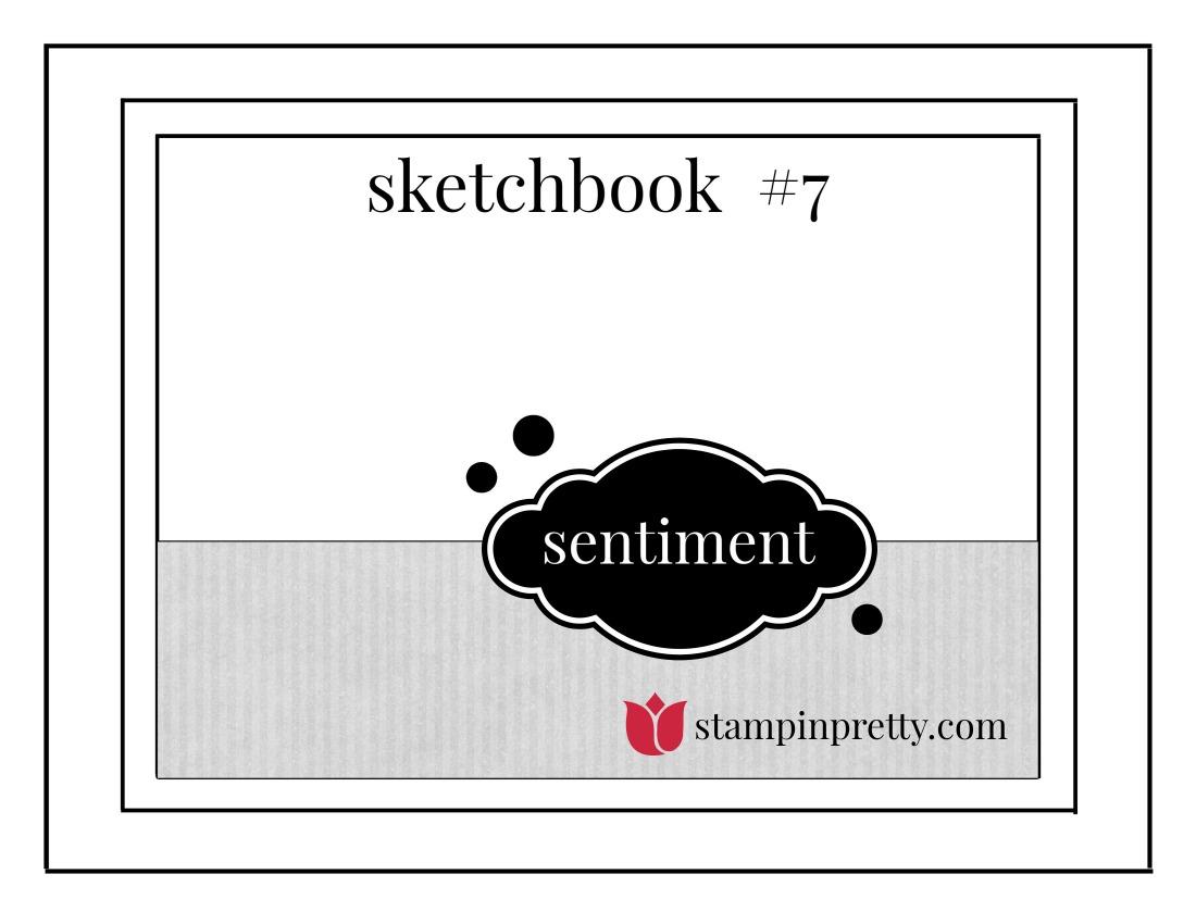 Stampin' Pretty Sketchbook 7