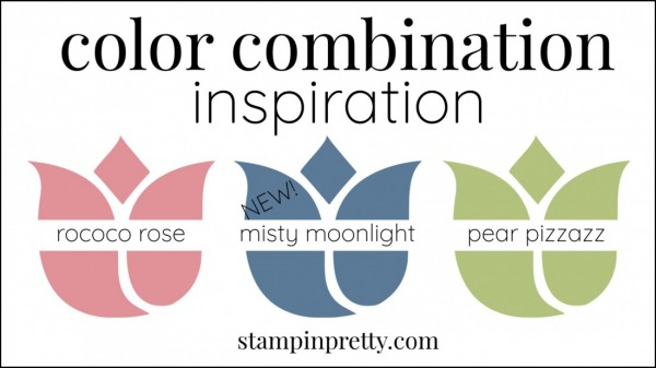 Color Combinations Misty Moonlight, Rococo Rose, Pear Pizzazz
