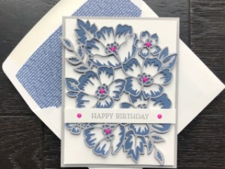 Create this Birthday Card using the Blossoms In Bloom Bundle from Stampin' Up! Card by Mary Fish, Stampin' Pretty - SNEAK PEEK! Available June 3, 2020