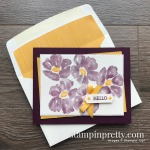 Create this card using the Blossoms in Bloom Stamp Set by Stampin
