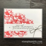 Create this card using the Tasteful Touches Stamp Set From Stampin